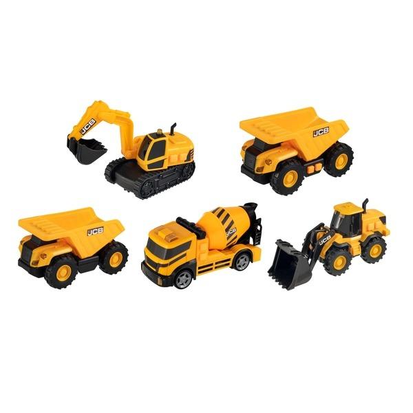 JCB Lights & Sounds Team 5 Pack Vehicles