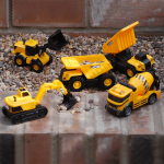 JCB LIGHTS AND SOUNDS CONSTRUCTION TEAM 5 PACK VEHICLES Image 1 copy 2