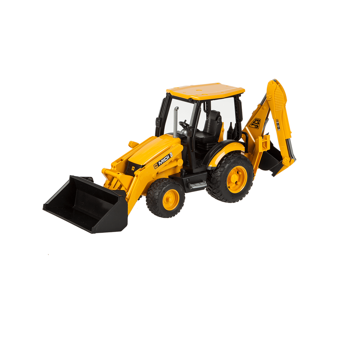 JCB Midi CX Backhoe Loader 1:16