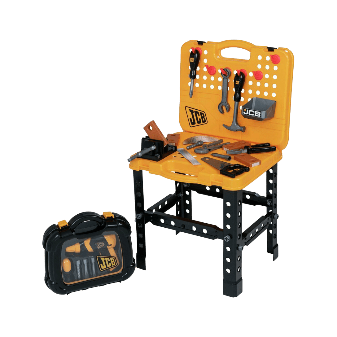 JCB Workbench and Tool Case Playset toy