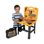 JCB WORKBENCH AND TOOL CASE PLAYSET TOY Image 2
