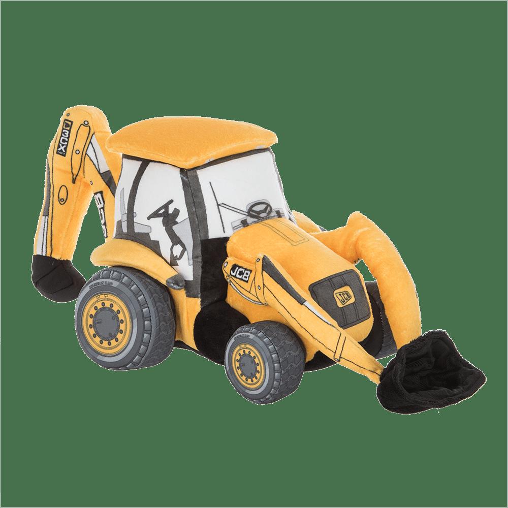 Backhoe Loader Plush Toy
