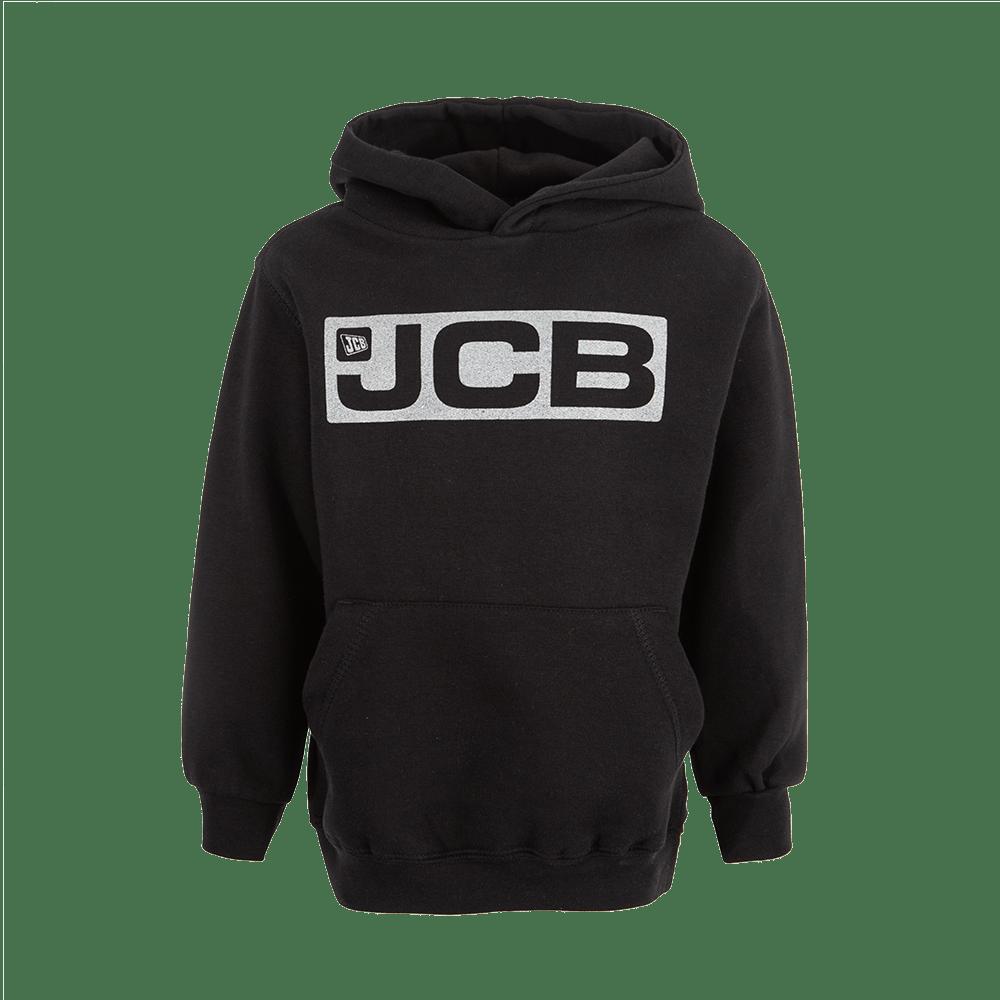 Kids JCB Black & Silver Hoody