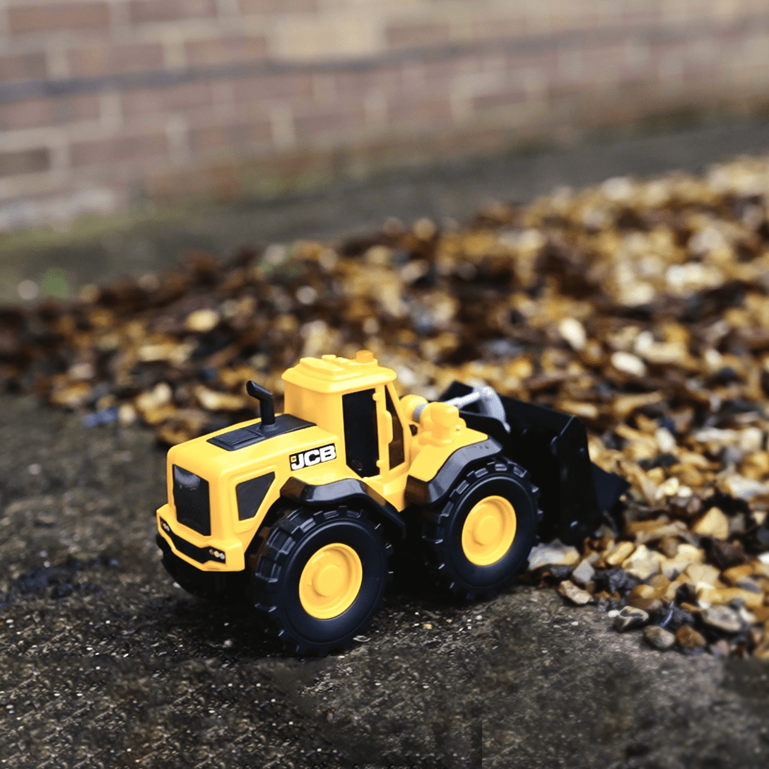 Mighty Moverz JCB Wheel Loader toy