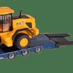 457 Wheeled Loader on low loader 1