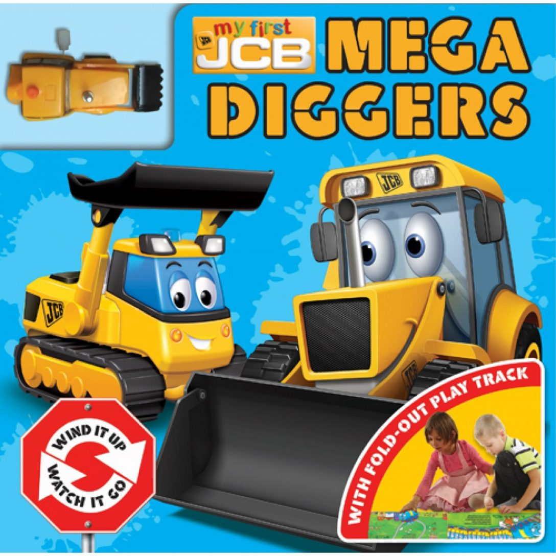 My First Mega Diggers Book