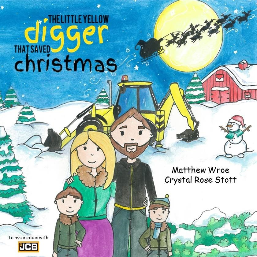 The Little Yellow Digger That Saved Christmas Book