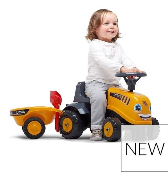 Baby JCB Ride-On Tractor