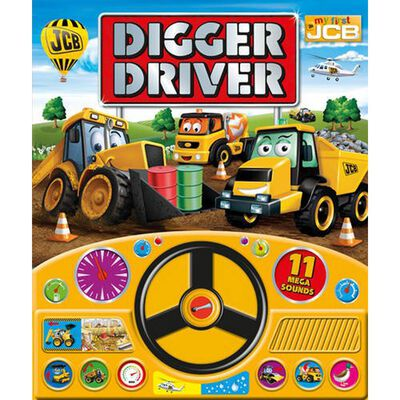 My First JCB Digger Driver Board Book