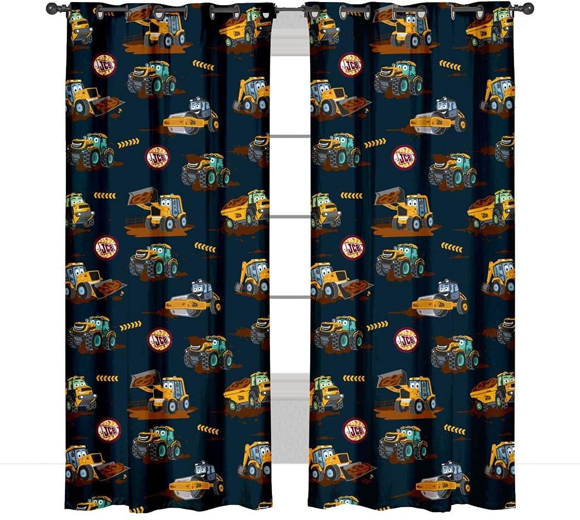 JCB Eyelet Curtains