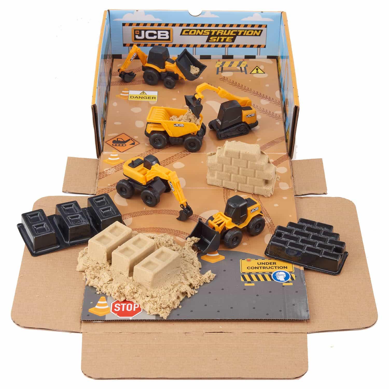 JCB Construction Set & Sand